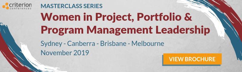 Women in Project, Portfolio & Program Management Leadership Masterclass