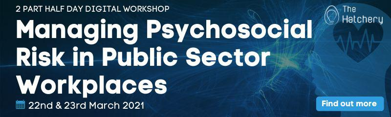 Managing Psychosocial Risk in Public Sector Workplaces