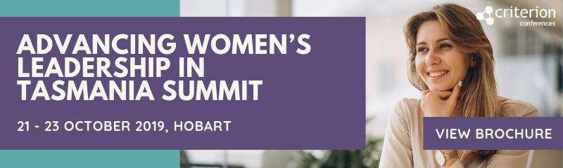 Advancing Women's Leadership in Tasmania Summit