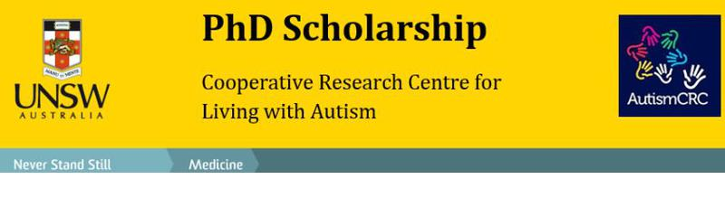 PhD scholarship - effects of early intervention in children with autism spectrum disorders (ASD)