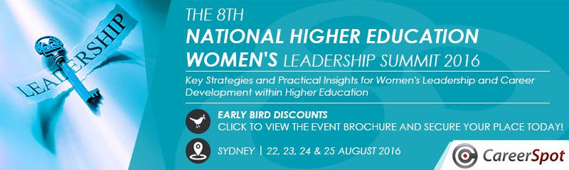 The 8th National Higher Education Women's Leadership Summit 2016