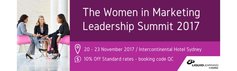 Women in Marketing Leadership Summit 2017