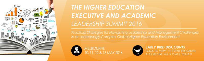 The Higher Education Executive and Academic Leadership Summit 2016