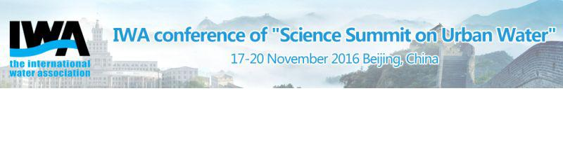 Science Summit on Urban Water